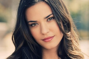 Odette Annable Face Wallpaper