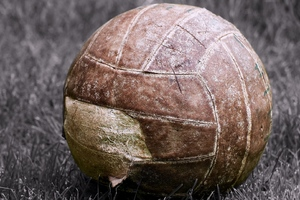 Old Ragged Football Wallpaper