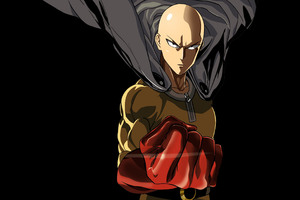 One Punch Man 4k Wallpaper