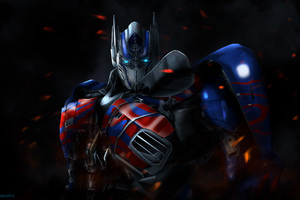 Optimus Prime 4k Wallpaper