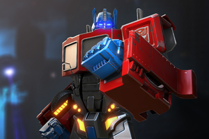 Optimus Prime Transformers Forged To Fight