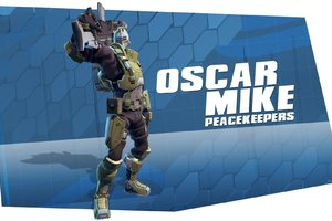 Oscar Mike Peacekeepers Battleborn
