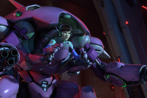 Dva Overwatch Wallpapers Images Backgrounds Photos And Pictures