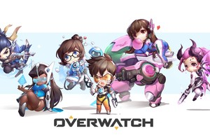 Overwatch Game Artwork 5k