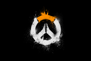 Overwatch Logo HD Wallpaper