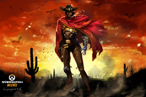 Overwatch McCree 8k