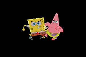 Patrick Star And Spongebob Wallpaper