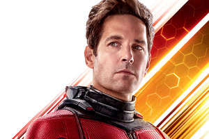 Paul Rudd As Antman In Ant Man And The Wasp 10k Wallpaper