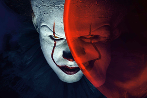 Pennywise The Clown It 2017 Movie 4k Wallpaper