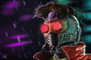 Peter Quill Star Lord Wallpaper