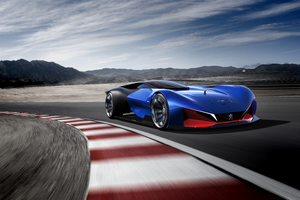 Peugeot L500 R Hybrid Racing Concept Wallpaper
