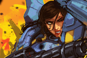 Pharah Overwatch 5k Wallpaper