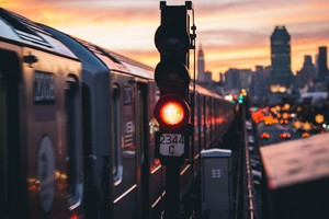 Photography City Train New York City Urban Wallpaper