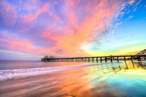 Pier Beach California