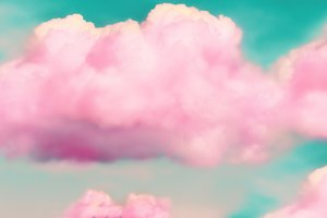 Pink Clouds 3d Wallpaper