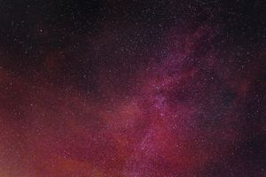 Pink Stars Night Astronomy 4k Wallpaper