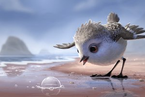 Piper Pixar Animated Movie Wallpaper