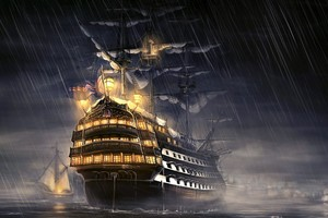Pirates Of The Caribbean Ship Artwork
