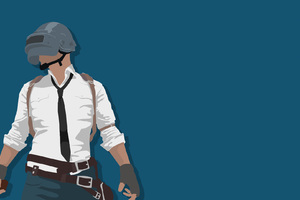 Playerunknowns Battlegrounds Minimalism Wallpaper