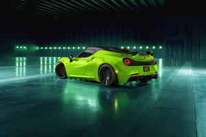 Pogea Racing Centurion Green Arrow 2018 Rear View Wallpaper