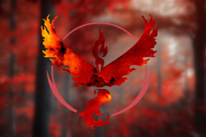 Pokemon Go Team Valor HD