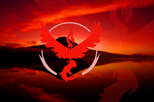 Pokemon GO Team Valor Wallpaper