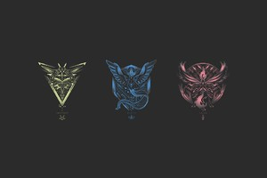 Pokemon Go Teams Minimalism