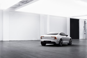 Polestar 1 2019 Rear Wallpaper