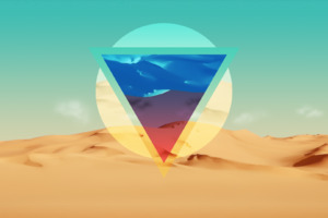 Polygon Triangle Artwork