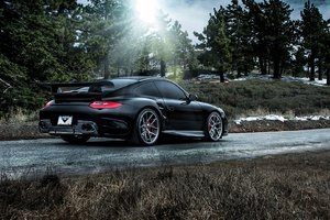 Porsche 911 Carrera Black
