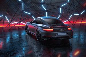 Porsche 911 TurboS CGI Wallpaper