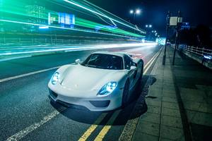 Porsche 918 Spyder Car Wallpaper