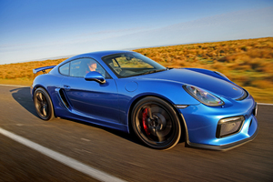 Porsche Cayman GT4 2 Wallpaper