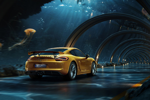 Porsche Digital Photography Wallpaper