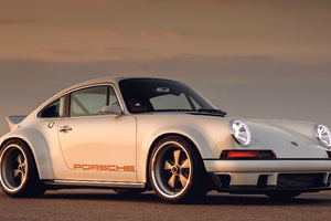 Porsche Singer Vehicle Design DLS Wallpaper