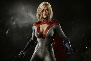 Power Girl Injustice 2 Wallpaper