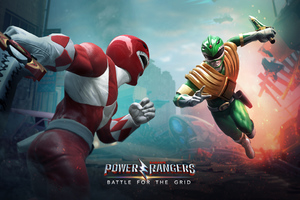 Power Rangers Battle For The Grid Wallpaper