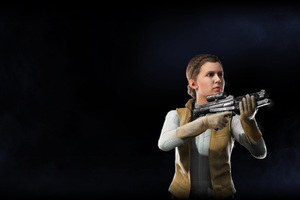 Princess Leia Star Wars Battlefront II 2017 Wallpaper