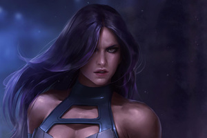 Psylocke Art Wallpaper