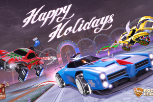 Psyonix Rocket League Happy Holidays
