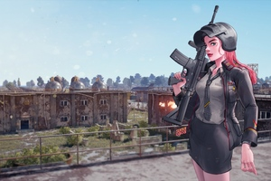Pubg Game Girl 4k Wallpaper