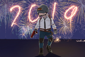 Pubg New Year Wallpaper