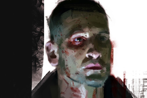 Punisher Tv Series Artwork Wallpaper