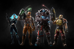Quake Champions All Characters