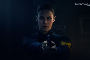 Quantum Break Gun