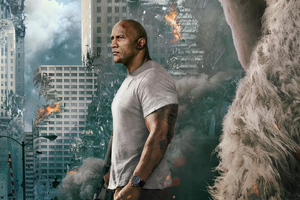 Rampage Dwayne Johnson Movie