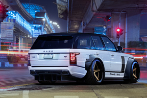 Range Rover Art Wallpaper