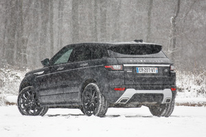 Range Rover Evoque Autobiography Si4 Back View