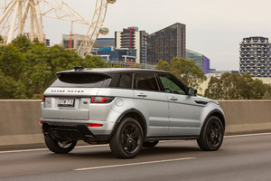 Range Rover Evoque HSE Si4 Dynamic Black Design Pack 2018 Rear Wallpaper