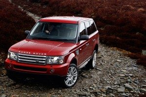 Range Rover Red